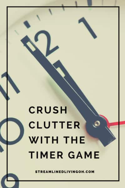 Learn the game that's guaranteed to make clutter disappear!