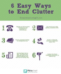 6-ways-to-End-Clutter-Infographic