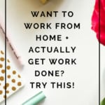 Having trouble getting work done from your home office? It could be for this one reason! Learn how to tweak your space so you can be more productive!