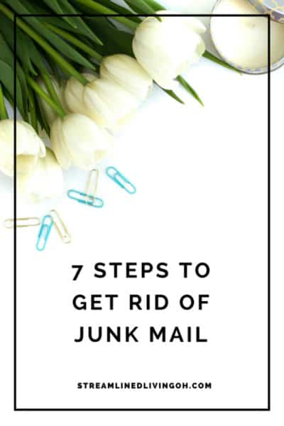 7 easy ways to get junk mail out of your life forever!