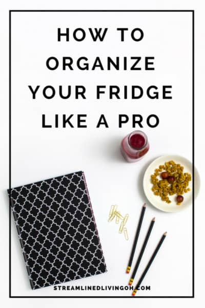 Keeping your fridge organized plays a big part in keeping your kitchen organized as well. Learn the secret to organizing your refrigerator like a pro!
