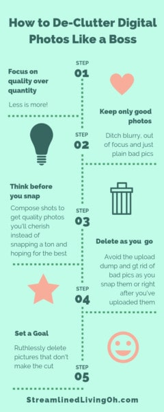 How to declutter and organize digital photos for a more organized computer