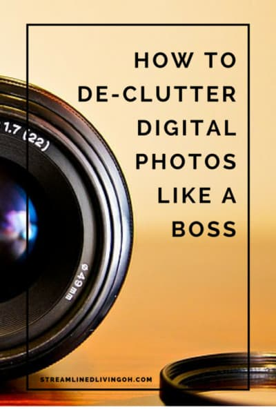 Read this to learn the best and easiest way to organize and de-clutter your photos. Get your digital life under control!