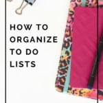 Overwhelmed by to do lists! You can't paper your way to get organized. Learn how to be more productive and get more done!