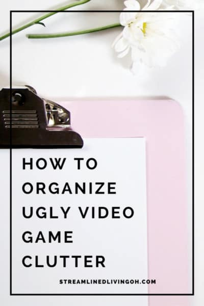 How to Organize Video Game Clutter