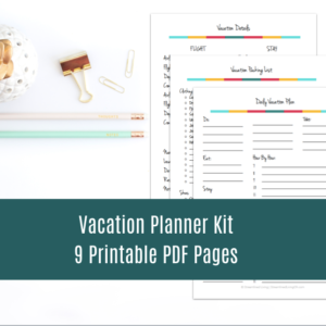 This vacation planner is sure to take your next trip from ok to completely fantastic! It has everything you need to plan the best trip. Leaves nothing to chance Well, except for missing your flight connection.