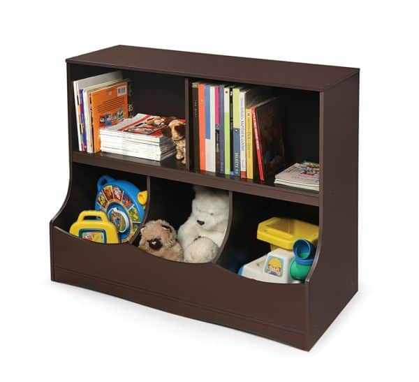 toy organizer and storage cubby
