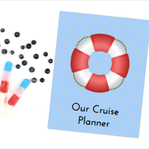 Plan the most awesome cruise vacation ever with this fabulous cruise planner! Keep all of the essential details close at hand with this planner and have a wonderful keepsake of your adventure as well!