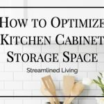 How to Optimize Kitchen Cabinets