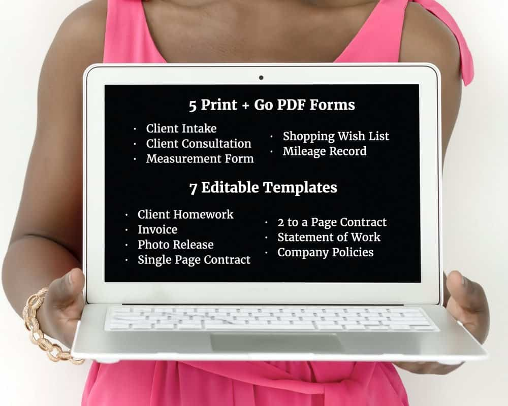 Professional Organizer Form and Template Kit
