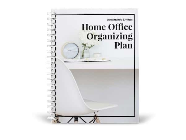 home office organizing plan